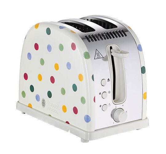 Emma Bridgewater Polka Dot 2 Slice Toaster