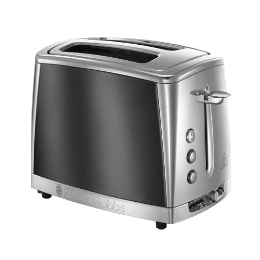 Luna 2 Slice Toaster Grey