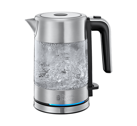 Compact Glass Kettle