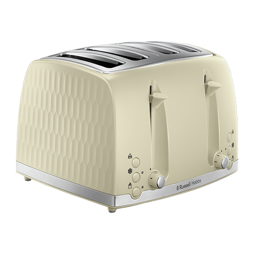 Honeycomb 4 Slice Cream Toaster