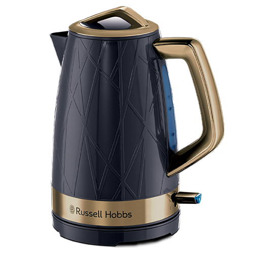 Structure Kettle - Brass Ombre Blue