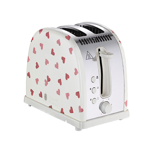 Emma Bridgewater Pink Hearts 2 Slice Toaster