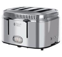 Retro 4 Slice Stainless Steel Toaster
