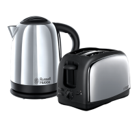 Lincoln 2 Slice Toaster and Kettle Twin Pack