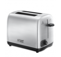 Brushed Stainless Steel 2 Slice Toaster