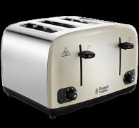Cavendish Cream 4 Slice Toaster