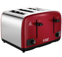 Cavendish Red 4 Slice Toaster