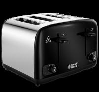 Cavendish Black 4 Slice Toaster