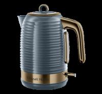 Inspire Brass Grey Kettle
