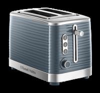 Inspire Grey 2 Slice Toaster