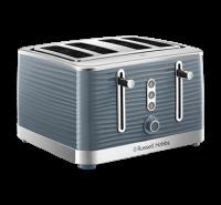 Inspire 4 Slice Grey Toaster
