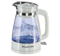 Classic Glass Kettle - White