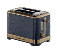Structure Brass Ombre Blue Toaster - 2 Slice