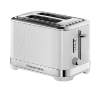 Structure White 2 Slice Toaster