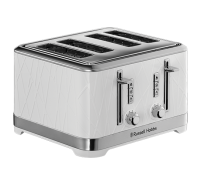 Structure White 4 Slice Toaster