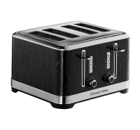 Structure Black 4 Slice Toaster