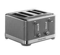 Structure Grey 4 Slice Toaster